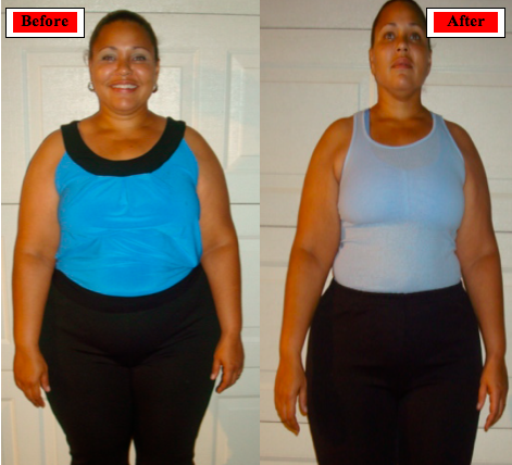 Tawanna Gordon Transformation contest columbus, Oh weight loss boot camp