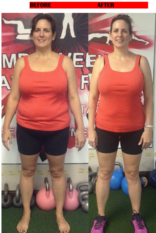 before after weight loss bootcamp
