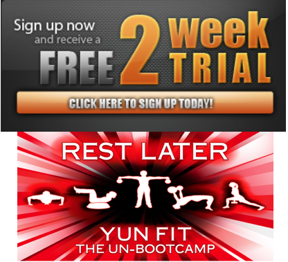 2-week trial yun fitness bootcamps