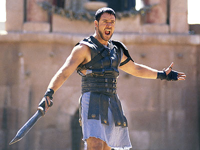 gladiator russell crowe & jason yun fitness warrior conditioning class