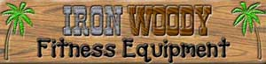 Iron woody wooden sign