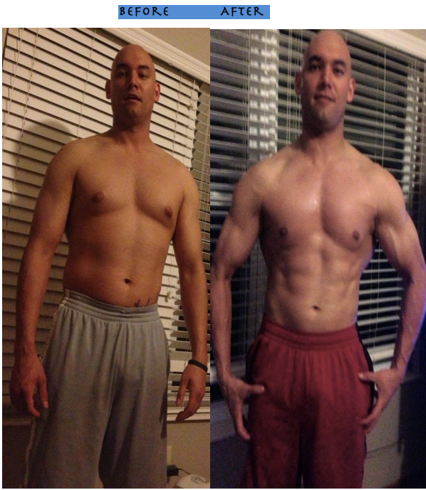 jason yun before after the right nutrition