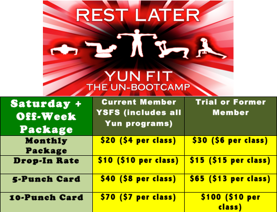 workout in hilliard with yun fit bootcamp